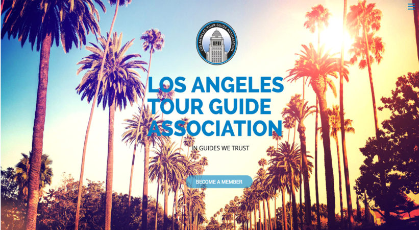 Los Angeles Guides Website By JQ Art Business
