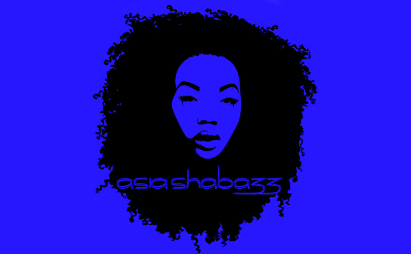 Asia Shabazz Logo By JQ Art Business