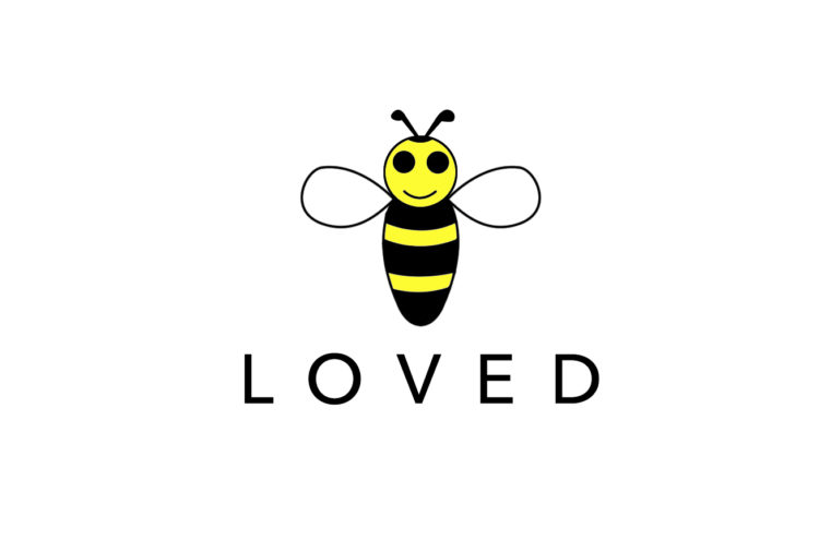 Bee Loved Logo By JQ Art Business