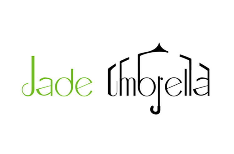 Jade Umbrella Logo By JQ Art Business