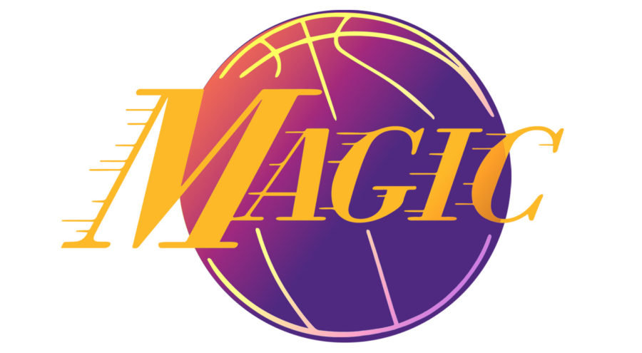 Magic Johnson Laker Logo By JQ Art Business